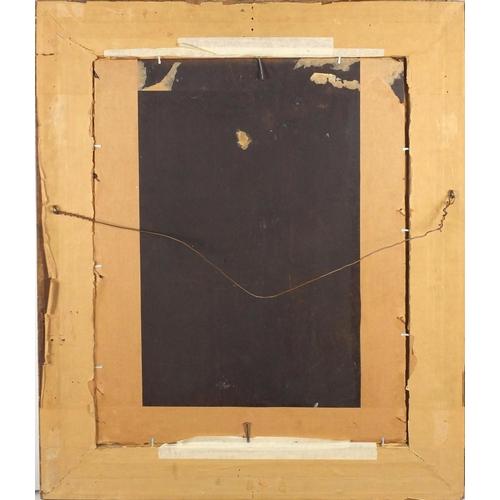 874 - Paul Desire Trouillebert - Pres De La Ville D'avray, oil on wood panel, framed, 53cm x 41.5cm (PROVE...
