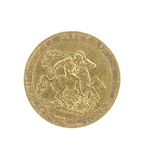 162 - George III 1817 sovereign...