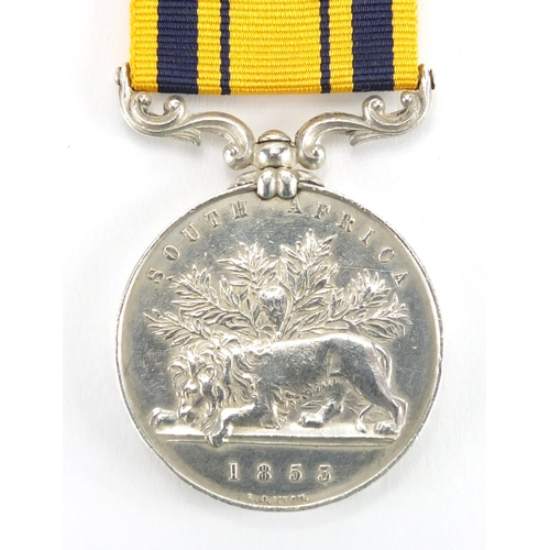 189 - Victorian British Military South Africa medal, awarded to ROBTGALLAWAY.2NDREGT...