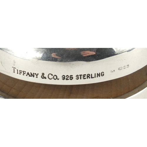 2353 - Tiffany & Co silver yoyo, 6cm in diameter, approximate weight 88.2g...