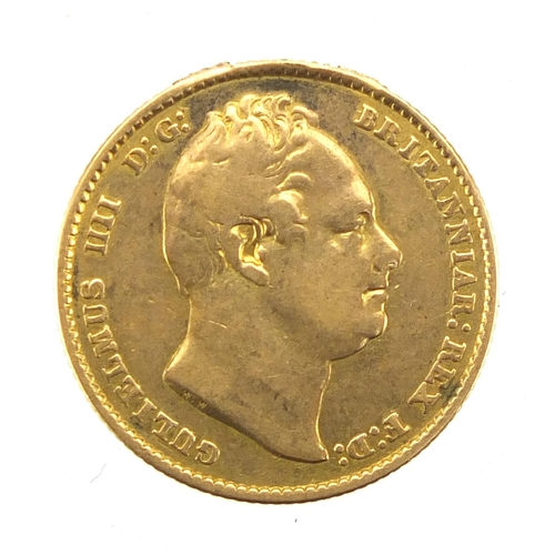 142 - George IV 1832 gold sovereign...