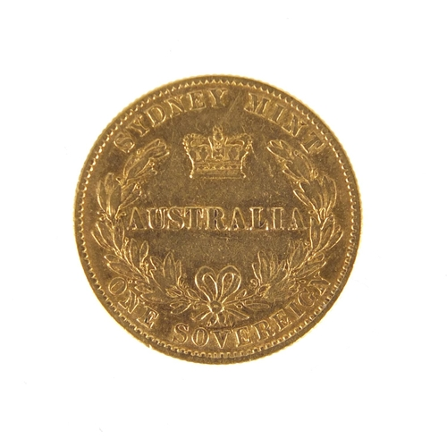 141 - Australian 1870 Sydney Mint gold sovereign...