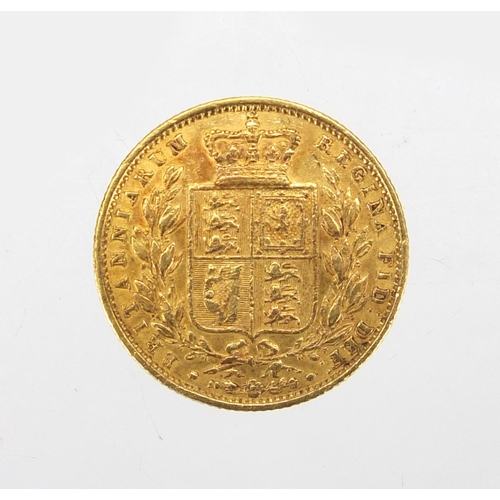143 - Victorian Young Head 1854 gold sovereign...