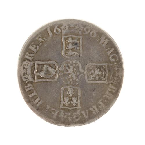151 - William III 1696 crown...