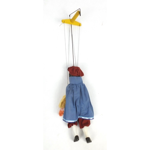553 - Pelham puppet - Prince number 3006 with box, 30cm high...