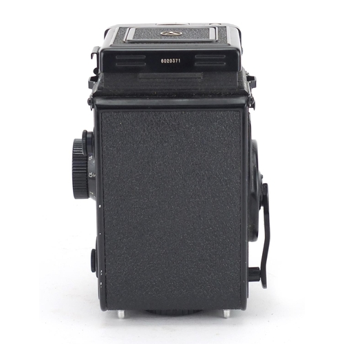 107 - Yascica Mat-124 G camera with lenses and leather cases...