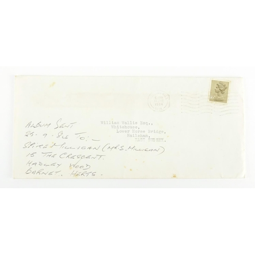 127 - Spike Milligan ephemra including a hand written letter detailing a loan and a signed printed letter...