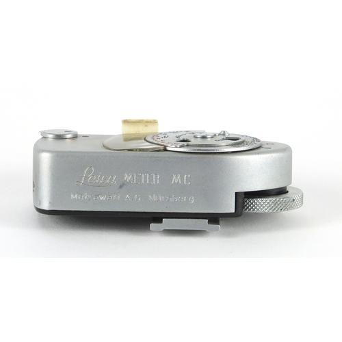 103 - Leica Meter MC light meter, serial number 97797...