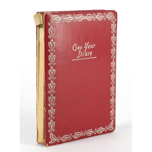 116 - 1960's school girls diary containing Rolling Stones ink autographs including Brian Jones, Mick Jagge...