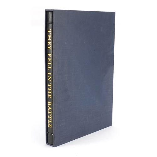 121 - They Fell In The Battle by The Royal Air Force Museum hardback book, signed by The Prince Philip Duk...