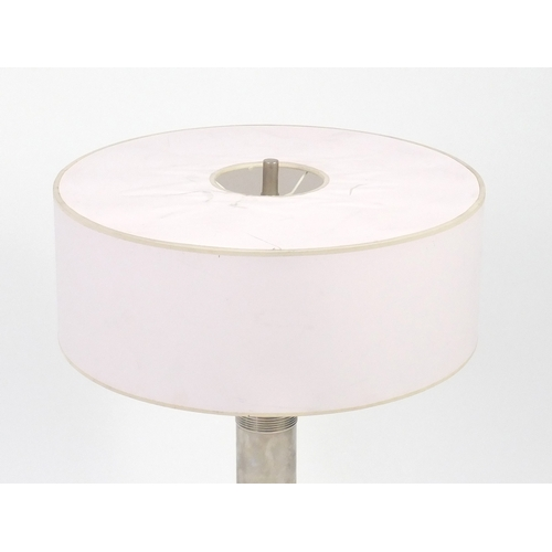 2009 - Visual Comfort Longacre table lamp with circular shade, 86cm high...