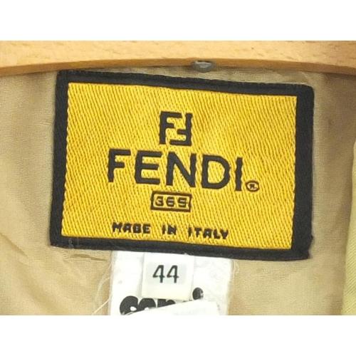 987 - Vintage Fendi ladies jacket, size 44...