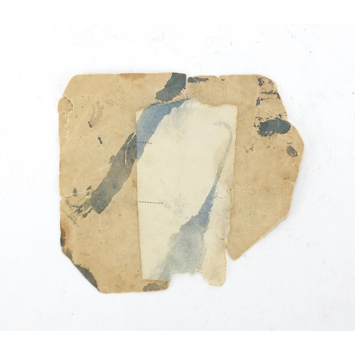 992 - Royal Naval wax seal for Capt Joseph Crew Tullidge, Esq...