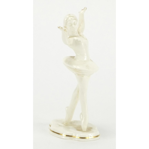 134 - Royal Worcester figurine of a ballerina - Joy, 16cm high...