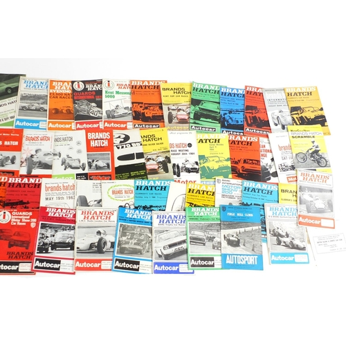 970 - Mostly 1960's and 70's Grand Prix and other racing programmes and magazines...