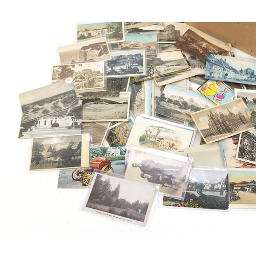 961 - Edwardian and later postcards including Bournemouth, Beachy Head and London...