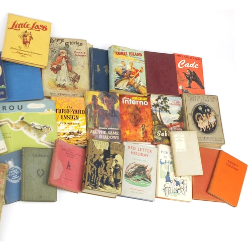 973 - Antique and lately books including The Water Babies by Charles Kingsley, Una and The Red Cross Knigh...