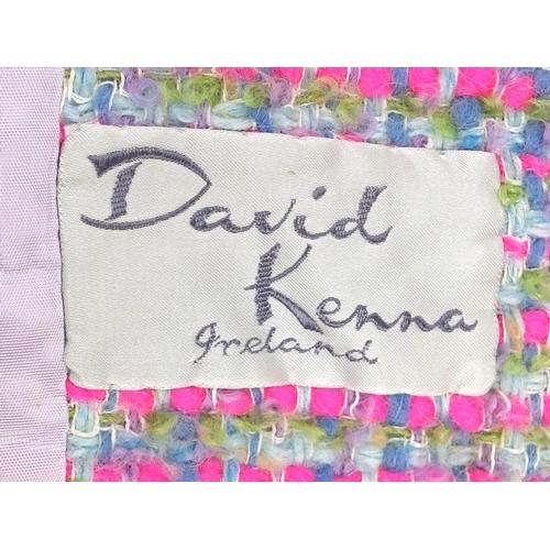 981 - Vintage Harrods skirt suit, designed by David Kenna...