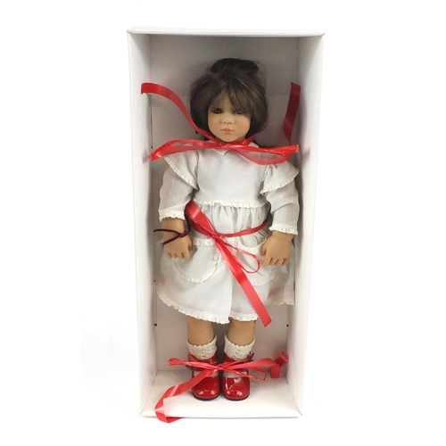 2085 - Annette Himstedt Puppen Kinder Anna II doll with certificate and box, 65cm in length...
