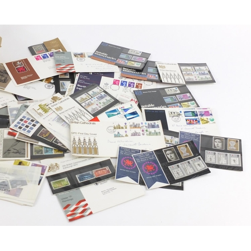 962 - British stamps and first day covers, some mint unused including sheets...
