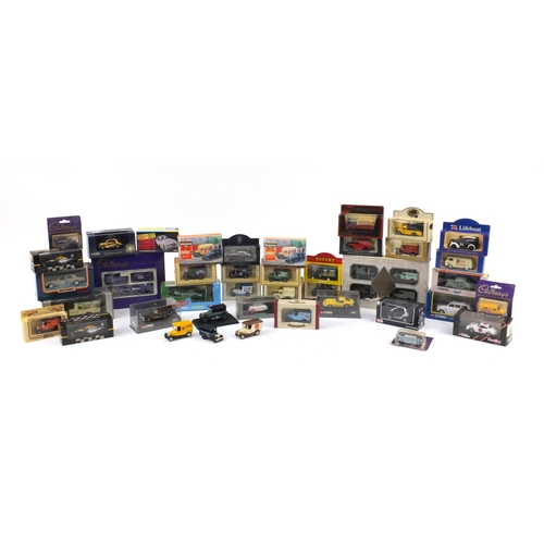2338 - Die cast collectors vehicles, mostly boxed including Hornby Hobbies, Corgi toys, James Bond Aston Ma...