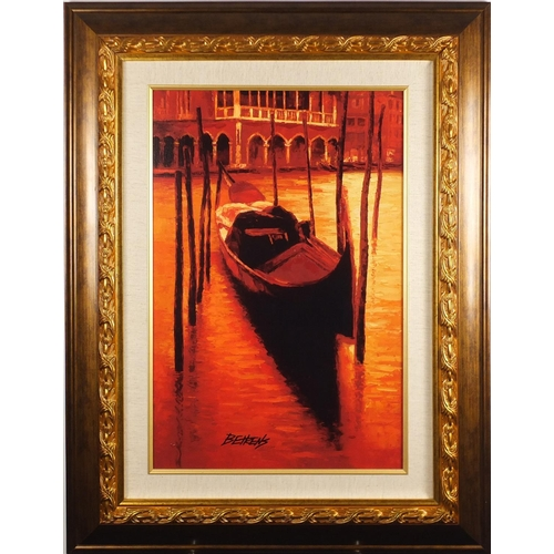 2175 - Mstislav Pavlov - First Date, Giclee on canvas, certificate of authenticity verso, mounted and frame...