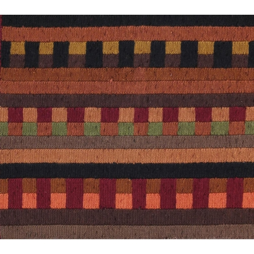 2004 - Turkish Porter pattern rug, 154cm x 96cm...
