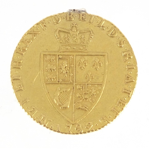 209 - George III 1792 spade guinea