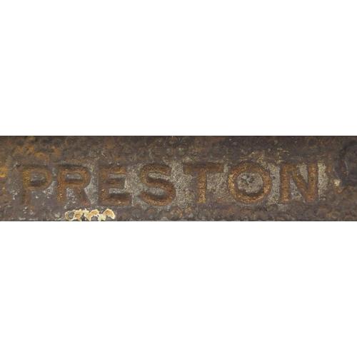 167 - Vintage Preston 1399P wood working router plane...