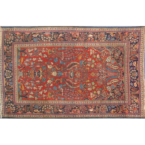 2060 - Rectangular Persian Tabriz carpet, 295cm x 205cm...