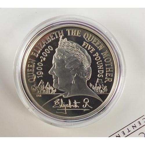 2798 - Silver proof commemorative coins including a Queen's Diamond Jubilee diamond shape coin, inset with ...