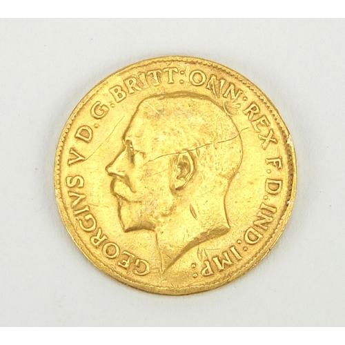 2795 - George V 1914 half sovereign...