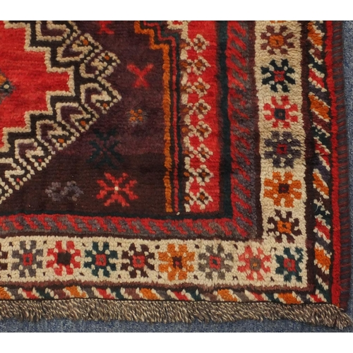 2055 - Rectangular Persian Shiraz carpet, 280cm x 206cm...