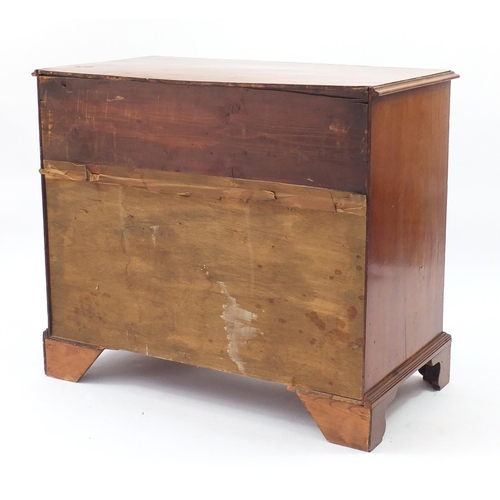 2011 - Victorian mahogany kneehole desk fitted with an arrangement of eight drawers and central cupboard do...