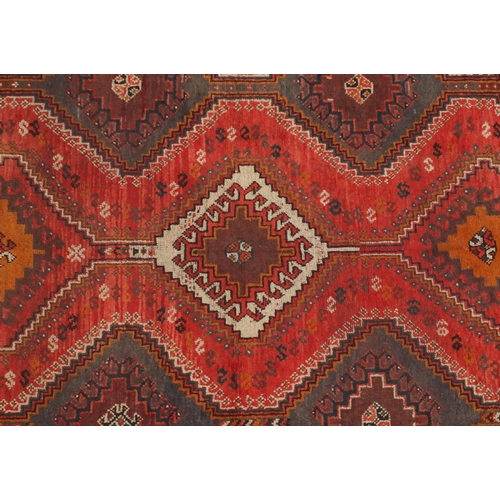 2024 - Rectangular Persian Shiraz carpet, 280cm x 206cm...