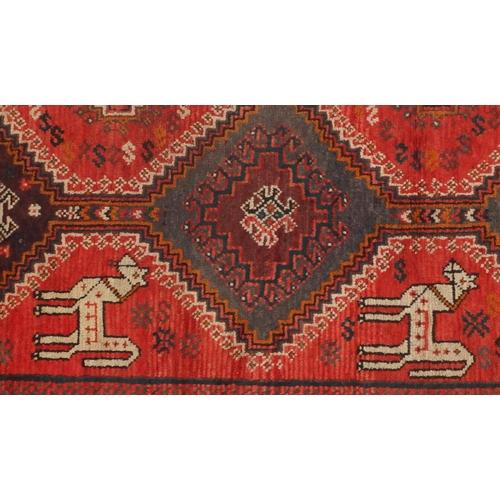 2024 - Rectangular Persian Shiraz carpet, 280cm x 206cm...