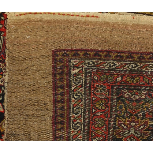2049 - 19th century Rectangular Persian Sarab rug, 207cm x 125cm...