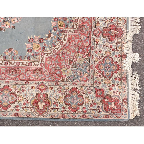 2025 - Rectangular Turkish Ladik ground carpet, handmade, 310cm x 215cm...