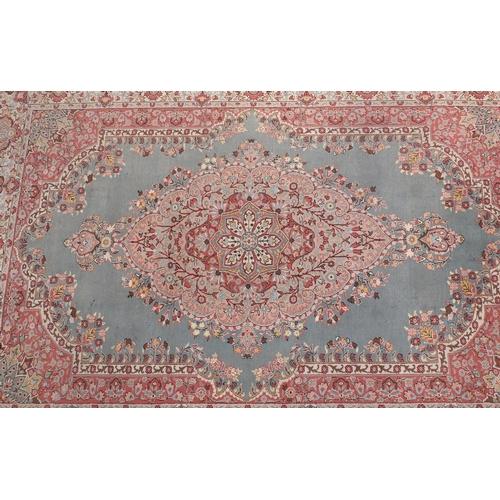 8 - Rectangular Turkish Ladik ground carpet, handmade, 310cm x 215cm...