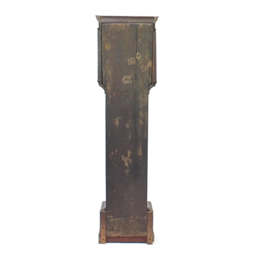 2008 - Antique oak long case clock with subsidiary dial, the dial inscribed J Blount Thomas & Co Southampto...