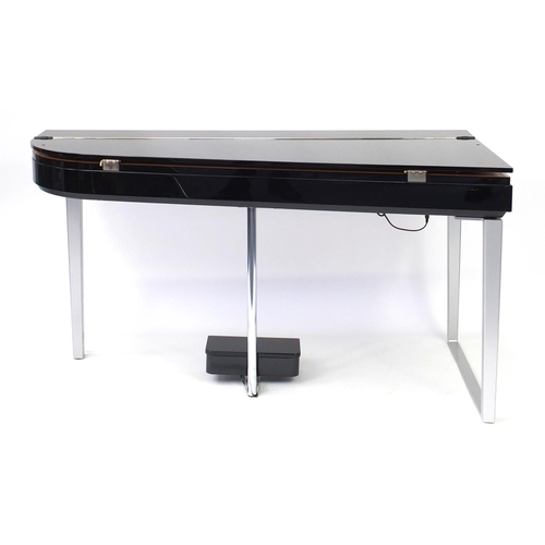 2014 - Yamaha Modus digital piano with stool, model HO1, 76cm H x 146cm W x 74cm D...