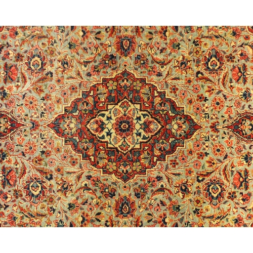 2011 - Rectangular Persian Tehran rug, 154cm x 108cm...
