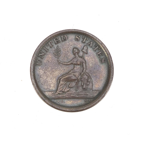 259 - United States 1783 Washington and Independence token