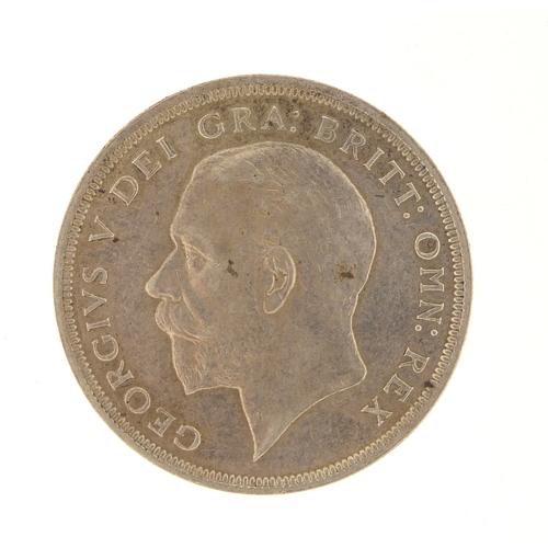 258 - Rare George V 1934 wreath crown