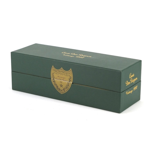 2259 - Bottle of vintage 1992 Moët & Chandon Dom Perignon, housed in a sealed box...
