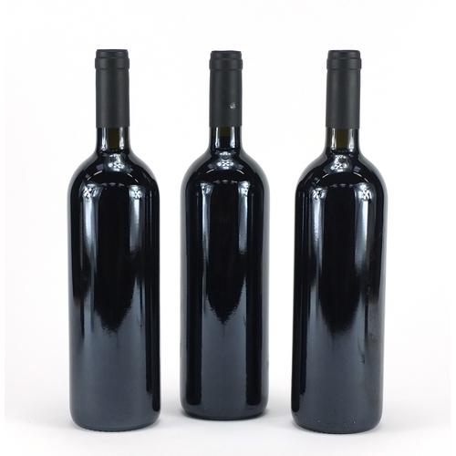 2199 - Three bottles of 2001 Solengo Toscana red wine...