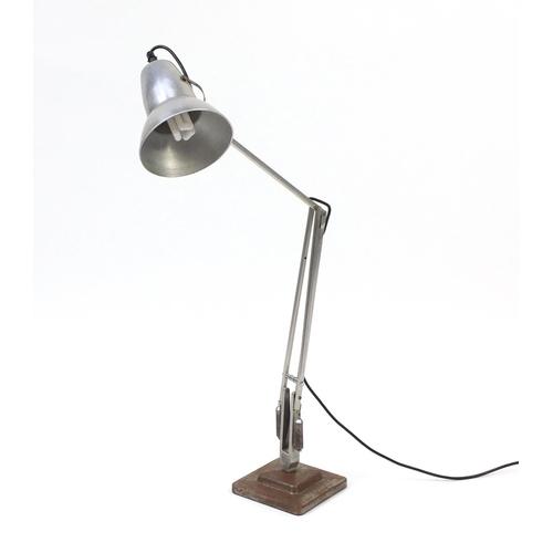 2089 - Vintage Herbert Terry aluminium anglepoise lamp...