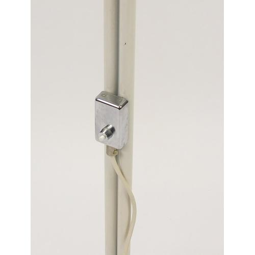 2046 - Vintage Swedish floor standing lamp, 138cm high...