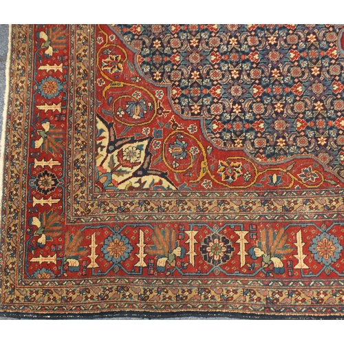 2011 - Rectangular Iranian wool Tabriz design carpet, 361cm x 246cm...