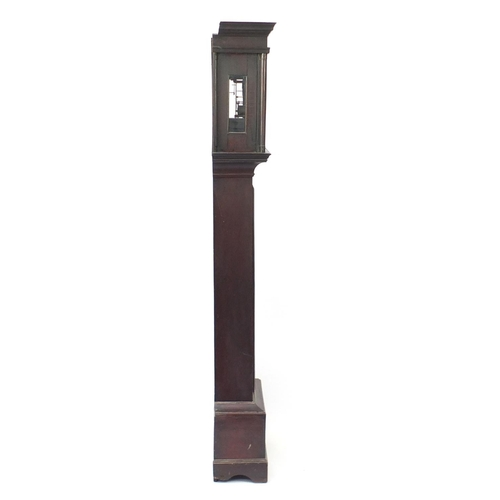 2022 - Antique oak long case clock with subsidiary dial, the dial inscribed J Blount Thomas & Co Southampto...